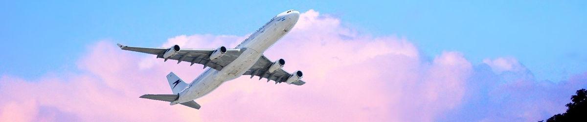 Boeing de Aerolíneas Argentinas despegando