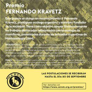 Premio Fernando Kravetz, SAREM